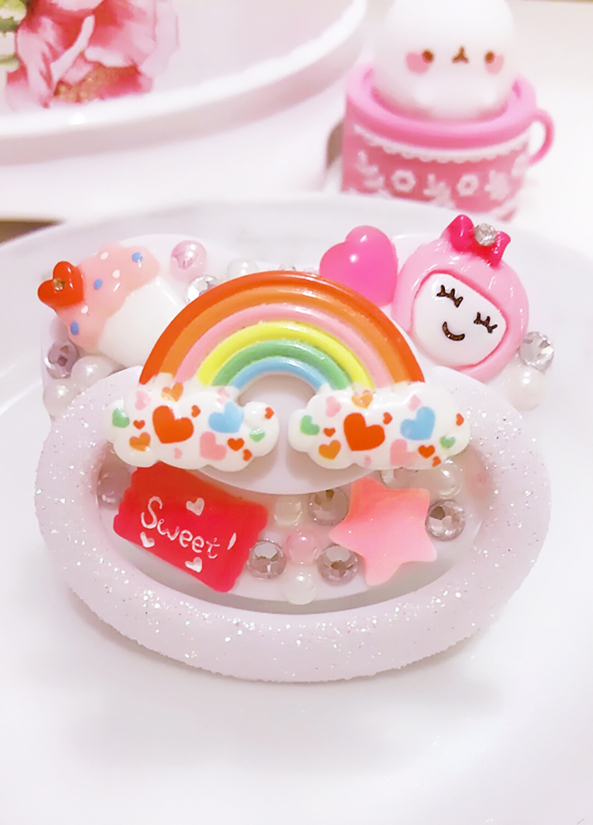 My Newest Binkie I Decorated ♡(◠-◠๑)♡, pacifier,pacy,pacie,binky, Feminization,Adult Babies