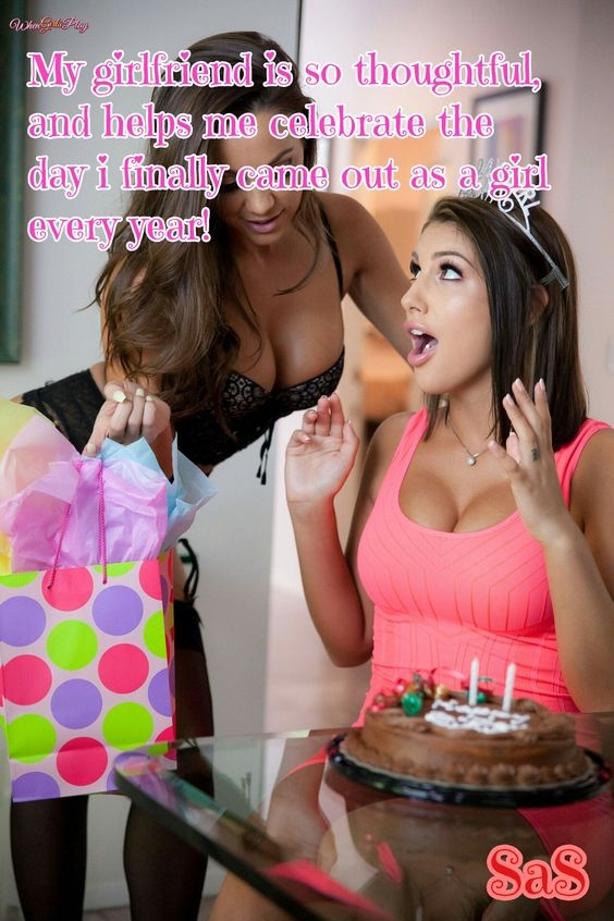 What would you love to be in the gift bag sissy? ^.~, gifts,sex toys, Feminization,Sex Toys