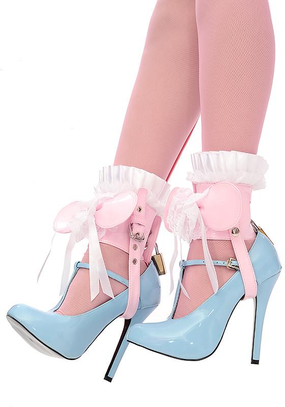Sissy Shoe Locks From Sissy Kiss Boutique, sissy heels,lock,lockable, Feminization,Dominating Mistress Or Master,Sissy Fashion,Dolled Up,Bondage