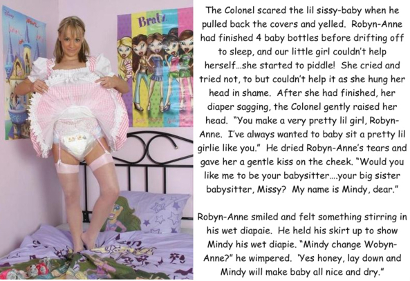 Introducing the Fairy Sissy Sisters - I'm posting this for the darling sissy Robyn Anne ^-^, diapers,sissy baby, Feminization,Adult Babies