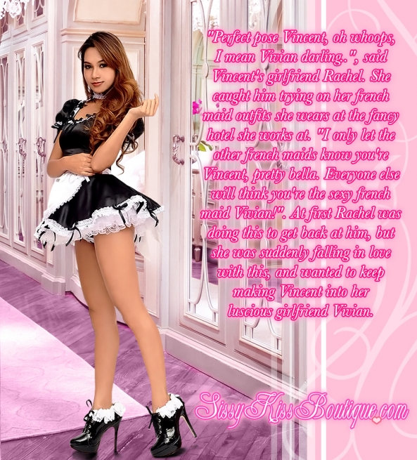 Dreaming of being a lovely french maid escalated, french maid,french maids,sissy maid,sissy maids, Feminization,Sissy Fashion,Dolled Up