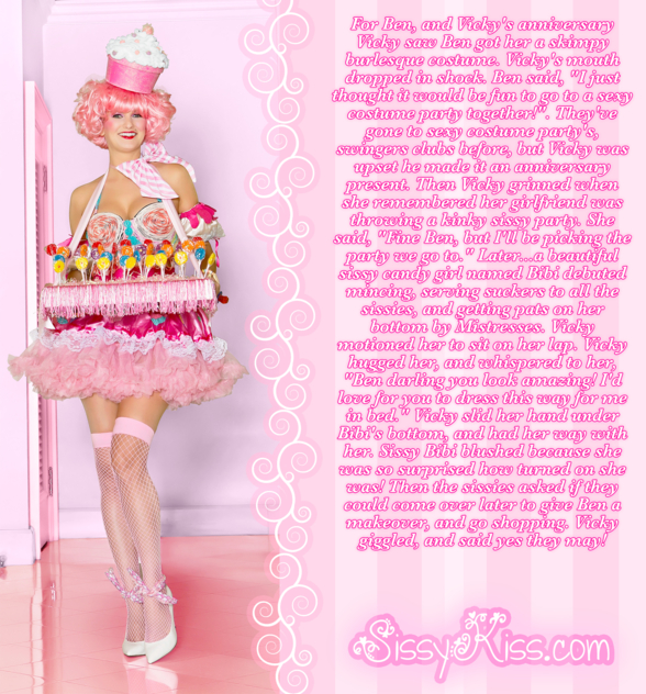 Sissy Bibi The Candy Girl, lollipops, Feminization,Dominating Mistress Or Master,Anal Sex,Dolled Up,Sissy Fashion,Gay Orientation