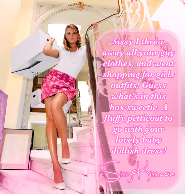Your new outfits!, new wardrobe, Feminization,Sissy Fashion,Dolled Up