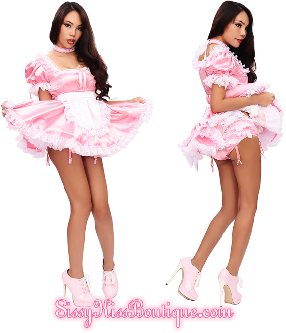 The Prissy Sissy Tinkerbelle Dress By SK Boutique, fashion,lingerie,baby doll,sissy dress,outfits,petticoat,sissy maid,french maid,sissy clothing,sissy wear, Feminization,Sissy Fashion,Dolled Up