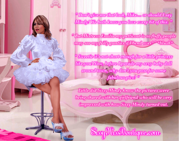 Sissy Mindy, sissy dresses, Feminization,Sissy Fashion,Dolled Up,Dominating Mistress Or Master