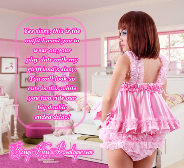 A Sissy Play Date, double ended dildo, Feminization,Sex Toys,Sissy Fashion,Gay Orientation,Anal Sex,Dolled Up