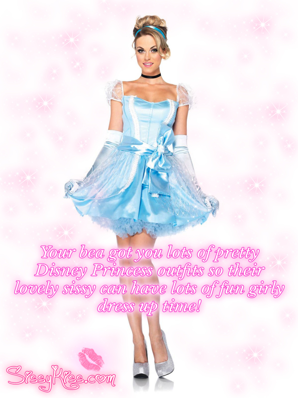It feels so lovely wearing each one!, disney princesses,disney princess,fairytale,dressup,makeover, Feminization,Dolled Up,Sissy Fashion,Holiday