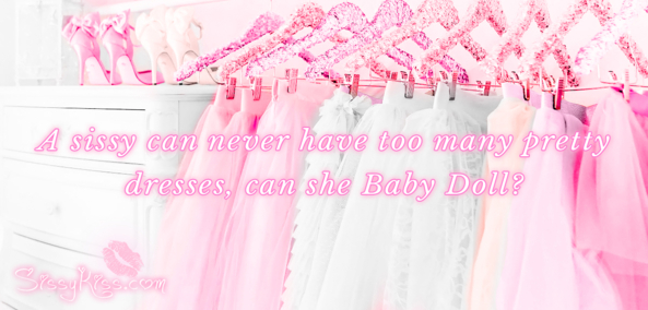I want to be swimming in them! ^-^, dressup,dresses,sissy clothing, Feminization,Dolled Up,Sissy Fashion