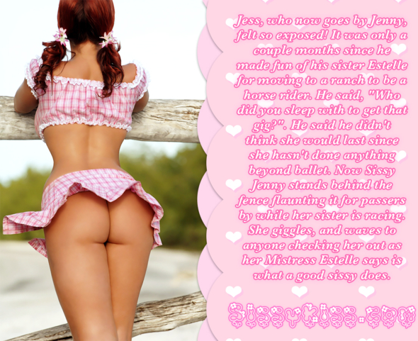 The New Sissy Cowgirl, cow girl,cowgirl,ranch,jockey, Feminization