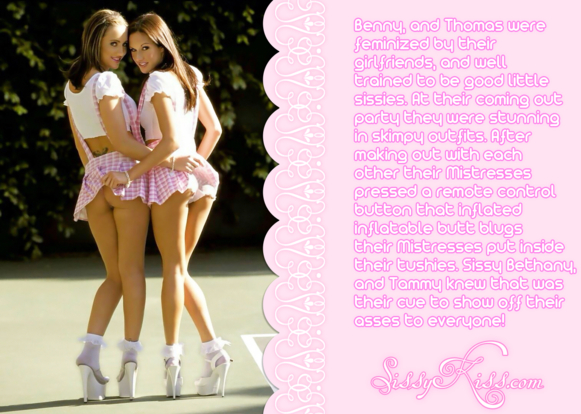 A sissy coming out party!, Feminization,Sex Toys