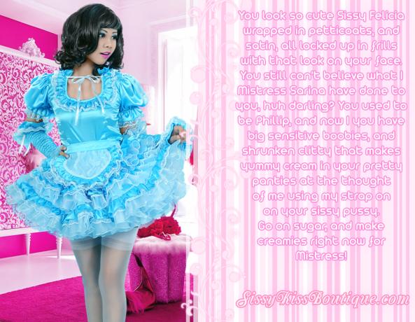 Sissy Felicia, Feminization,Sissy Fashion,Sex Toys