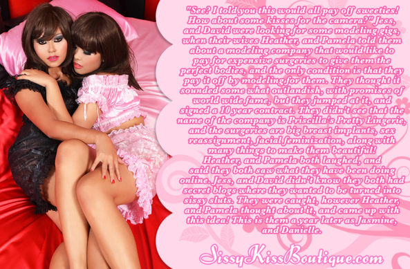 Sissy Jasmine, and Danielle, Feminization