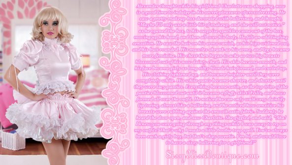 Becoming A Sissy Ballerina, Feminization,Magical Change