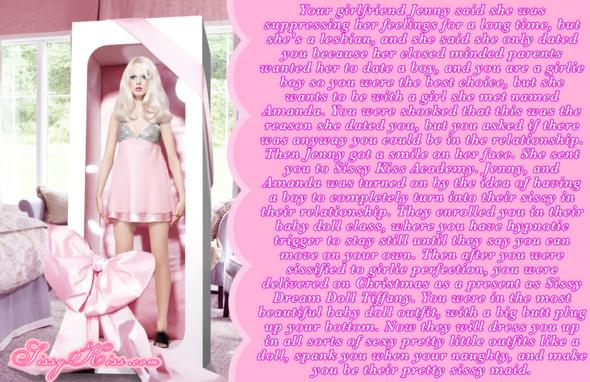 The new sissy baby doll, Feminization,Sex Toys