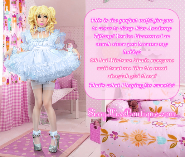 First Day At Sissy Kiss Academy ^-^, Feminization