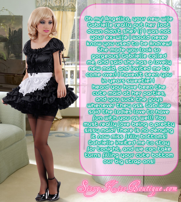 Sissy Maid Angelica, Feminization,Sex Toys,Anal Sex