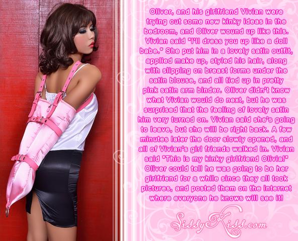 Sissy Olivia, Feminization,Bondage,Dolled Up,Sissy Fashion