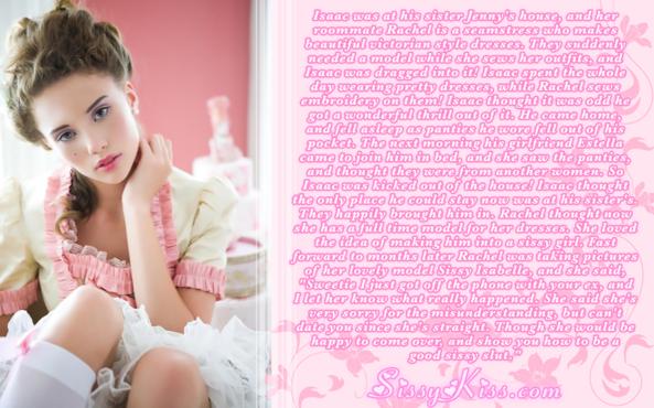 Sissy Isabelle, Feminization,Quick Change,Sissy Fashion,Dolled Up