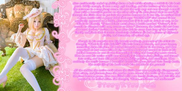 Alex In Wonderland, Feminization,Magical Change,Fairytale