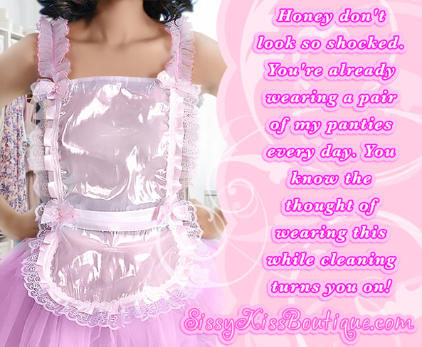 She dresses you up in more, and more girly outfits, Feminization,Sissy Fashion,Dolled Up