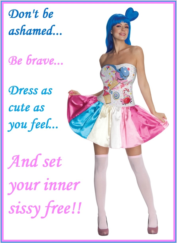 Be Good Sissies And Maybe Get A Treat, halloween, Feminization,Holiday