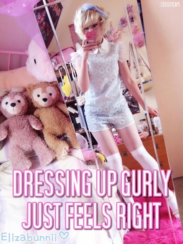 It feels amazing!, dressed up, Feminization,Sissy Fashion,Dolled Up
