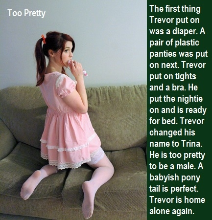 Two Babies - I made some cappies for Jessybaby and Trevor., Tights,Diaper,Spanking,Crossdress,Schoolgirl, Adult Babies,Feminization,Humiliation,Diaper Lovers