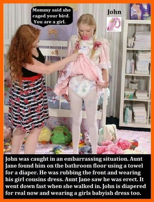 Dominated - Have you ever been dominated by females?, Diaper,Dominate,Sissy,Panty, Adult Babies,Feminization,Identity Swap,Sissy Fashion