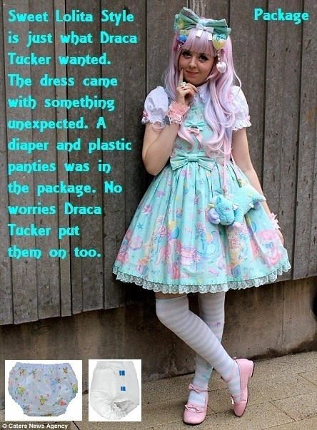 Nonya and Draca - Two captions about being dressed up., Lolita Girl,Sissybaby,Babysitter,Dress Up, Adult Babies,Feminization,Identity Swap,Sissy Fashion