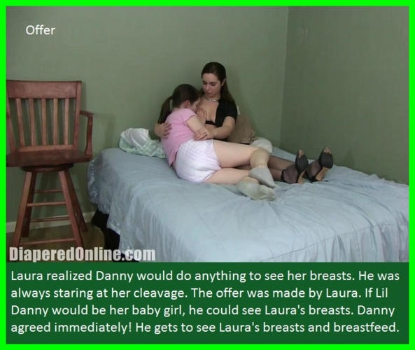 Nappy News - Captioned pictures about how nappies are used by dominant females., Dress Up,Diapered,Ballernia,Dominate, Adult Babies,Feminization,Identity Swap,Sissy Fashion