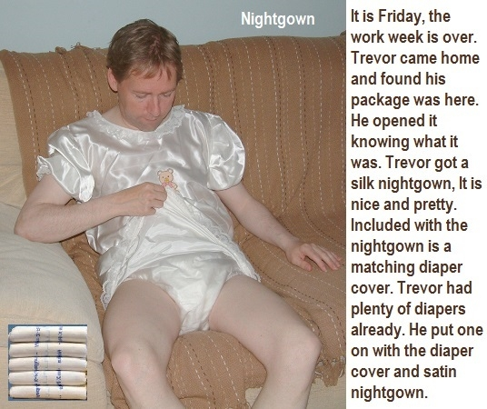 Another Set - Here is another set of captions. Each one is a bit different from the others. Bonus Trevor caption added., Schoolgirl,Sexy Girl, Spanking,NIghtgown,Diaper, Adult Babies,Feminization,Humiliation,Diaper Lovers