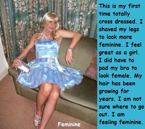 Feminine Males - I made some cross dressing cappies about feminine and pretty males., Cross Dress,Feminine,Graceful, Feminization,Slow Change,Hormones,Identity Swap