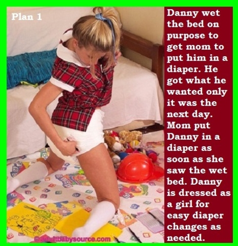 Two Stories - I have posted 2 double cappie stories and the first is about myself. Bonus Dress Code cappie added., Leotard,Panty,Domination,Diaper, Adult Babies,Feminization,Humiliation,Diaper Lovers