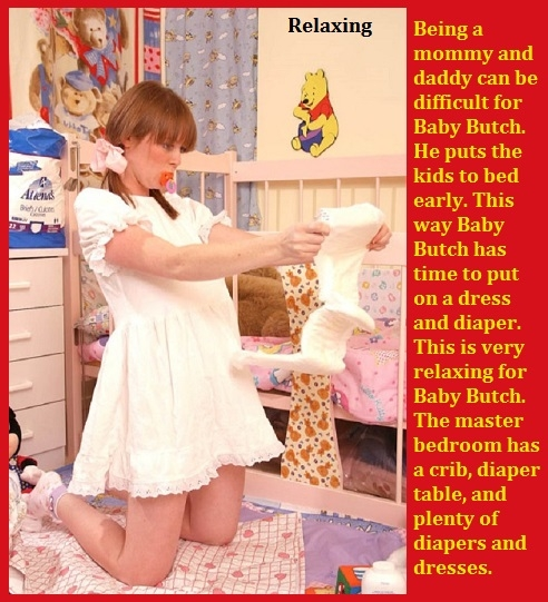 Busy Parent - Wheather a mommy or daddy a parents work is never done., Humiliation,Mommy,Daddy,Diaper,Sissybaby, Adult Babies,Feminization,Identity Swap,Sissy Fashion