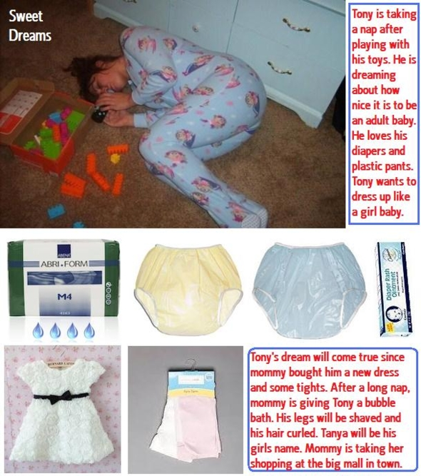 Diaper For A Baby - Females like to dominate males and dress them in diapers and girls clothing. More old cappies never posted., Humiliate,Dominate,Diaper,Gypsy, Adult Babies,Feminization,Identity Swap,Diaper Lovers
