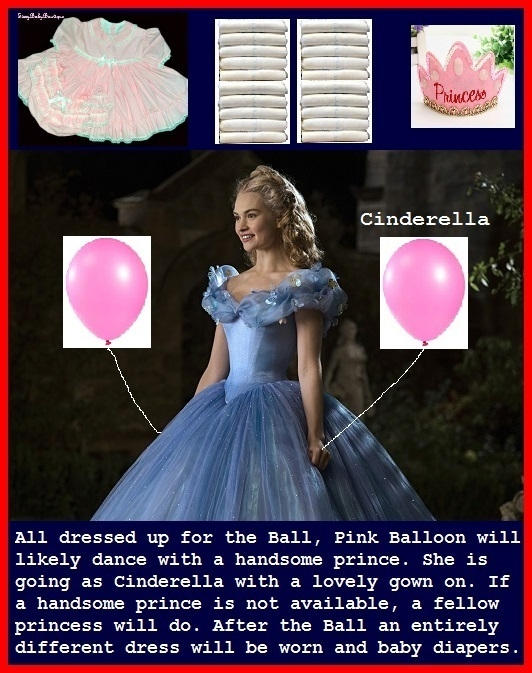 Pink Balloon - I made several different theme cappies for Pink Balloon. Happy biirthday early!, Pink Balloons,Disney Princess,Diapergirl, Adult Babies,Feminization,Humiliation,Diaper Lovers