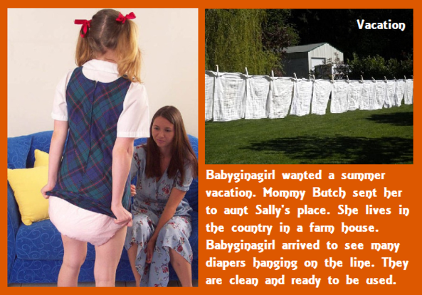 Babyginagirl - Mommy has taken care of Babyginagirl and what she needs., Nurse,Mommy,Baby Girl,Diapers, Adult Babies,Feminization,Identity Swap,Sissy Fashion