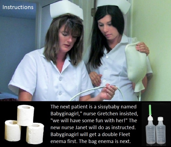 Medical Sissybaby 1 - Twelve medical themed cappies for a couple of sissybabies., Nurse,Doctor,Sissybaby,Enema,Exam,Dominate, Adult Babies,Feminization,Identity Swap,Sissy Fashion,Diaper Lovers