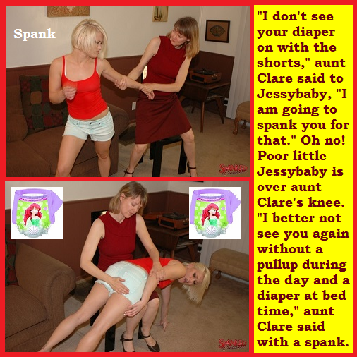 Just Two - I posted 2 new cappies and added a poll. One cappie is for Jessybaby. The other is a Saturday Night Live spoof., Cheerleader,Diaper,Jessybaby, Adult Babies,Feminization,Humiliation,Diaper Lovers
