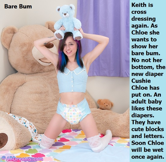 Keith As Chloe - Dressing up as a sissybaby can be great fun. Beth and Chloe cappies included., Transgender,Sissybaby,Diaper,Baby Girl, Adult Babies,Feminization,Identity Swap,Sissy Fashion