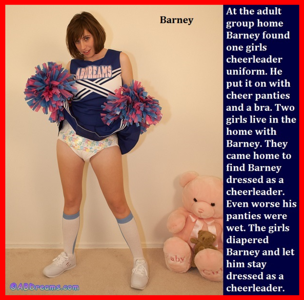 Cappie Contest 1 - Two new cappies and a poll to choose the best one., Diaper,Dominate,Babysitter,Cheerleader, Adult Babies,Feminization,Identity Swap,Sissy Fashion