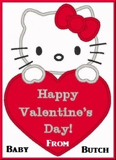 HAPPY VALENTINE'S DAY - Love and hugs to everyone on Valentines Day. Have a great day!, Valentine,Hello Kitty,Love, Feminization,Adult Babies,Sissy Fashion
