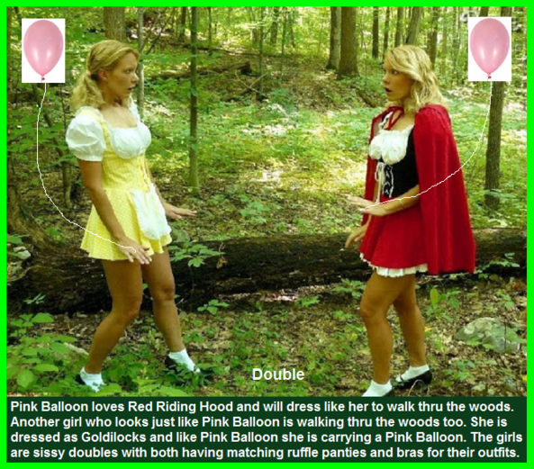 Two For You - Two captions made about a couple of Sissy Kiss members., Sissyfurry,Diaper,Dress Up,Fairy Tale, Adult Babies,Feminization,Identity Swap,Sissy Fashion