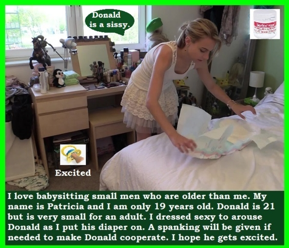 Diaper Sex - Some adults get excited when put in a diaper. A pretty mommy makes this more likely., Mommy,Breastfeed,Diaper,Dominate, Adult Babies,Feminization,Identity Swap,Sissy Fashion