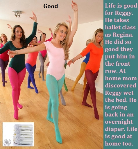 Strong Girls - Sometimes your sister may be stronger than you are. A male can be a strong girl doing ballet., Leotard,Tutu,Ballet,Diaper,Dominate, Adult Babies,Feminization,Identity Swap,Sissy Fashion