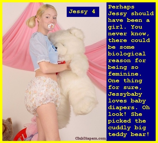 Jessy 1 - 5 - Jessy should have been born a female. In diapers Jessybaby makes a cute sissybaby girl., Aunt,Cousins,Diaper,Feminize, Adult Babies,Feminization,Humiliation,Diaper Lovers