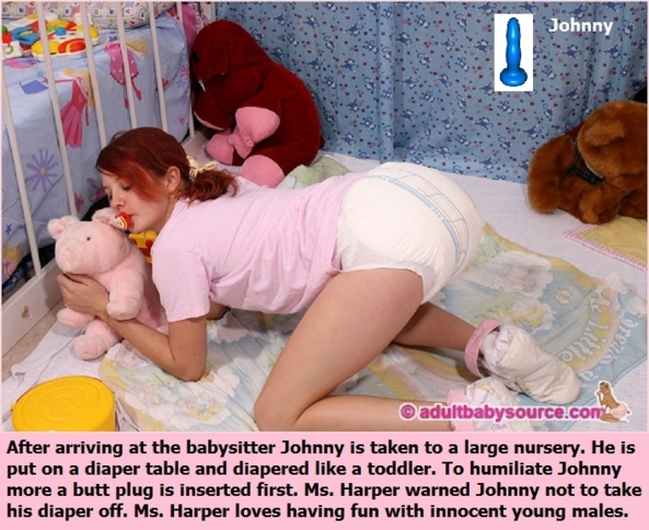 Diapered Adults 1 - Different females make wonderful mommies. This includes sisters and babysitters., Mommy,Sister,Babysitter,Neighbor, Adult Babies,Feminization,Identity Swap,Sissy Fashion