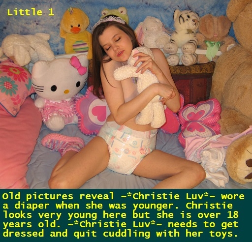 Under The Spotlight 5 - I have put 11 of my Sissy Kiss friends under the spotlight with a captioned piccie. Four cappie Webmissy story Little included., Dominate,Diaper,Sissybaby,Panty,Sissy, Adult Babies,Feminization,Identity Swap,Sissy Fashion