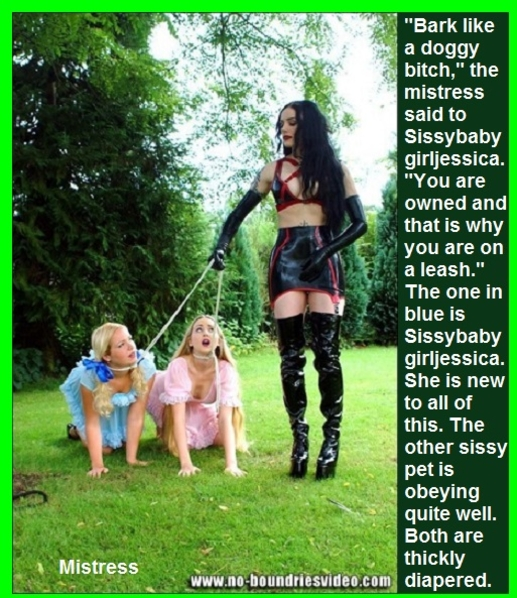 Nappied Adults 2 - There are many nappied adults in the world. Some are on Sissy Kiss and I captioned a few., Diaper,Leashed,Owned,Sissybaby, Adult Babies,Feminization,Identity Swap,Sissy Fashion