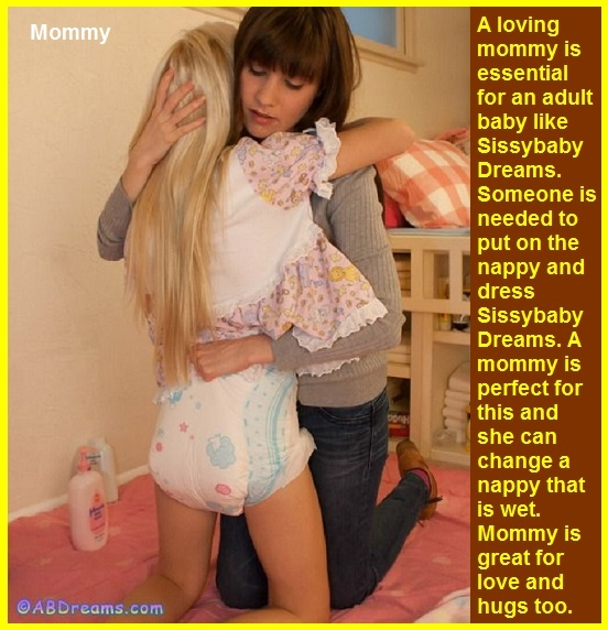 Nappied Adults - There are many nappied adults in the world. Some are on Sissy Kiss and I captioned a few., Nappy,Spank,Sissybaby,Dominate, Adult Babies,Feminization,Identity Swap,Sissy Fashion